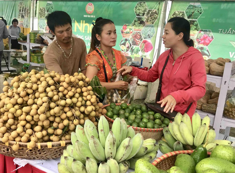 Image result for nông sản Sơn La