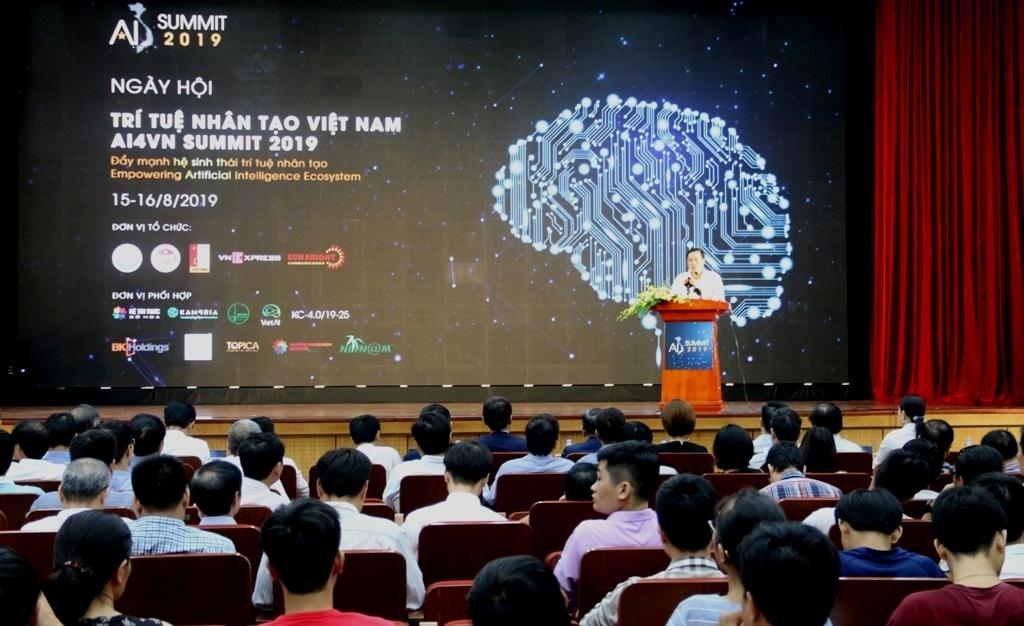 ai4vn summit 2019 day manh phat trien he sinh thai tri tue nhan tao
