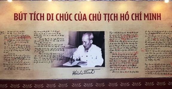 trung bay tu lieu 50 nam thuc hien di chuc chu tich ho chi minh