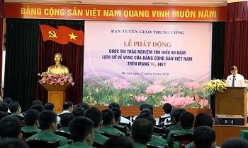 """Phát động cuộc thi """"Tìm hiểu 90 năm lịch sử vẻ vang của Đảng Cộng sản Việt Nam"""""""