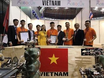 viet nam doat giai ba cuoc thi sang tao robot chau a thai binh duong 2019