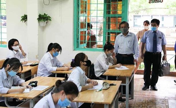 Hà Nội có 3 thí sinh thuộc nhóm F2 sẽ thi tốt nghiệp THPT 2020 đợt 2