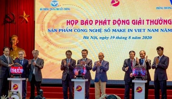 """Giải thưởng """"Sản phẩm công nghệ số Make in Vietnam"""": Bàn đạp phát triển về kinh tế số"""