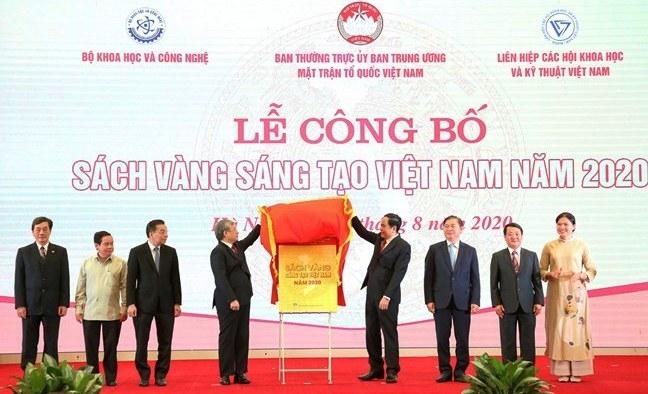 75 công trình, giải pháp tiêu biểu được đưa vào Sách vàng Sáng tạo Việt Nam năm 2020