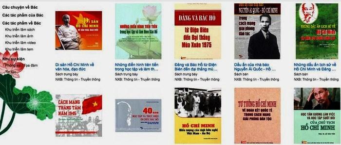 Triển lãm sách trực tuyến kỷ niệm 75 năm Quốc khánh 2/9