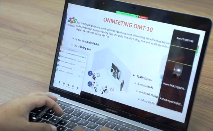 Ra mắt giải pháp họp trực tuyến OnMeeting