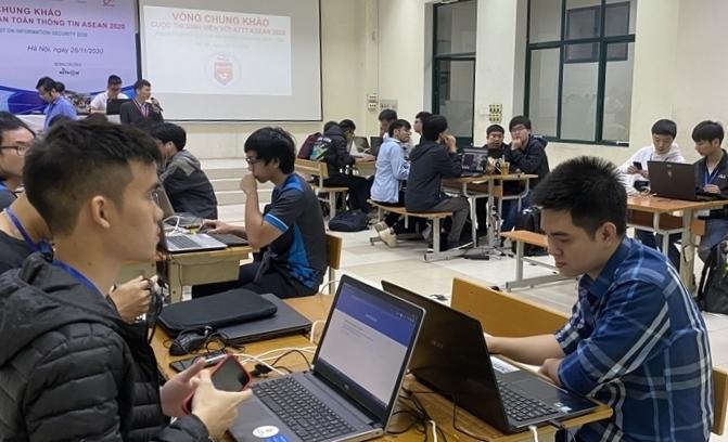 Sinh viên với An toàn thông tin ASEAN 2021