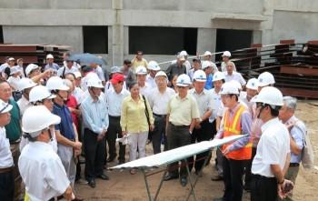 Chi hội Dầu khí Hà Nội thăm một số công trình dầu khí tại Thái Bình