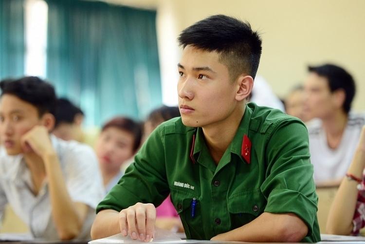 Công bố điểm sàn xét tuyển các trường quân đội năm 2020