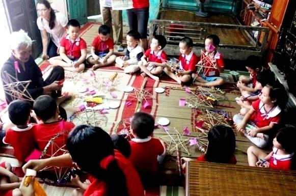 Vui Trung thu tại Bảo tàng Dân tộc học Việt Nam