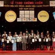 Hơn 100 doanh nghiệp nhận nhãn hiệu nổi tiếng - nhãn hiệu cạnh tranh Việt Nam 2020