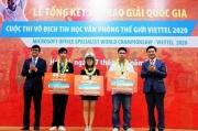 Trao giải cuộc thi Vô địch Tin học văn phòng thế giới