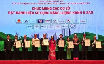 Hà Nội vinh danh cơ sở sử dụng năng lượng xanh năm 2021