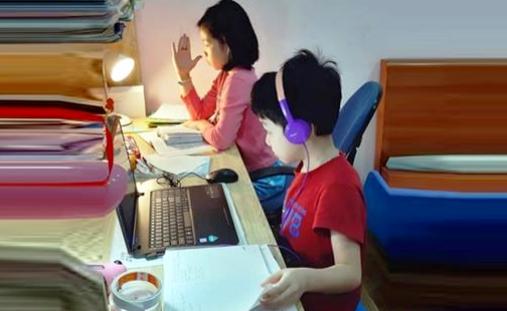 Không tổ chức kiểm tra, đánh giá định kỳ với lớp 1, lớp 2 khi học online