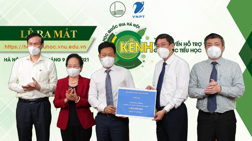 Đại học Quốc gia Hà Nội ra mắt kênh trực tuyến hỗ trợ giáo dục tiểu học