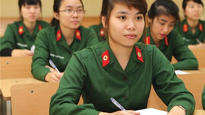 Điểm chuẩn các trường quân đội 2021: Cao nhất 29,44 điểm