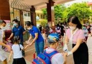 Nhiều địa phương cho học sinh trở lại trường