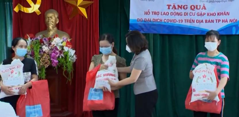Hà Nội: Hỗ trợ lao động di cư gặp khó khăn do dịch Covid-19