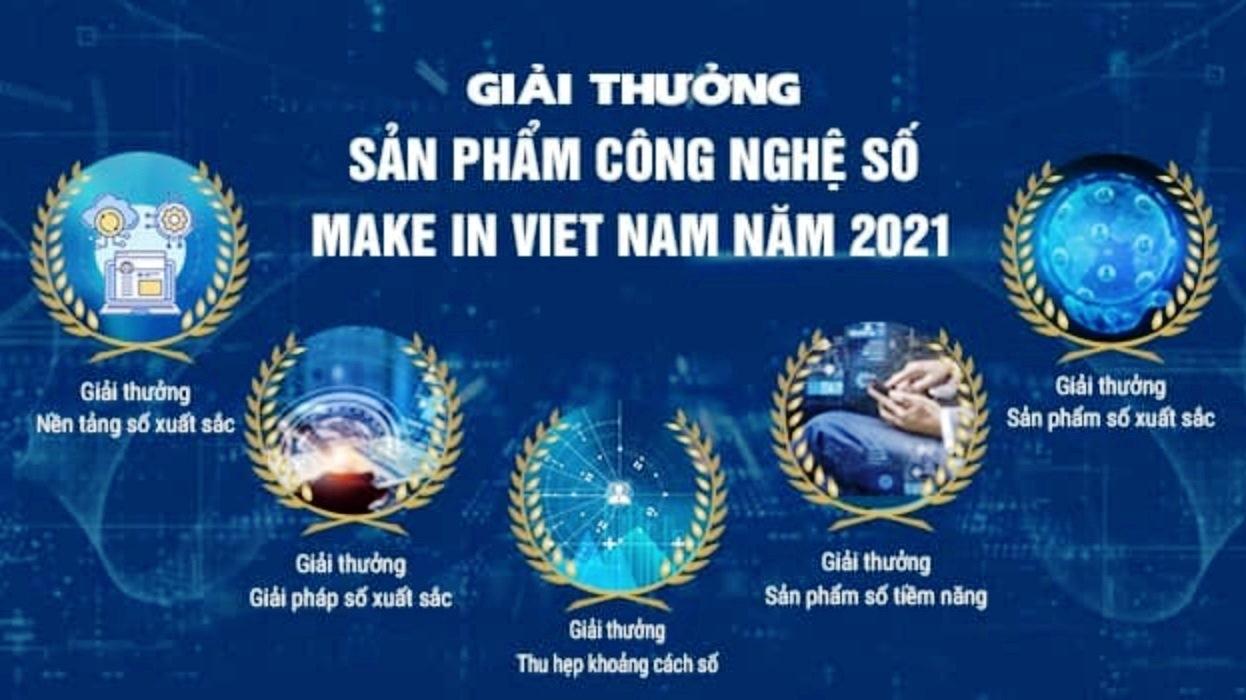 """Gia hạn thời gian tham gia giải thưởng """"Sản phẩm Công nghệ số Make in Viet Nam"""" năm 2021"""