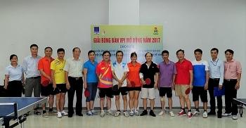 VPI khai mạc Giải bóng bàn và tennis mở rộng năm 2017