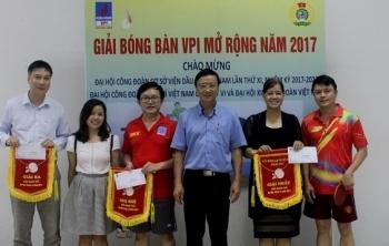 Công đoàn VPI: Tổ chức nhiều hoạt động văn hóa - văn nghệ - thể thao