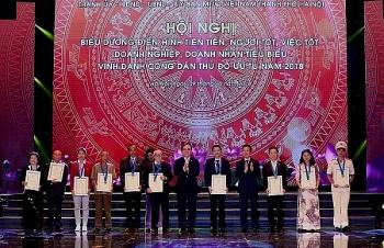 Vinh danh 10 công dân ưu tú Thủ đô 2018