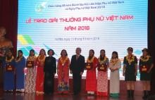 ton vinh 15 tap the ca nhan dat giai thuong phu nu viet nam 2018
