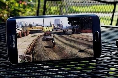 samsung sap ra mat smartphone choi game chuyen dung