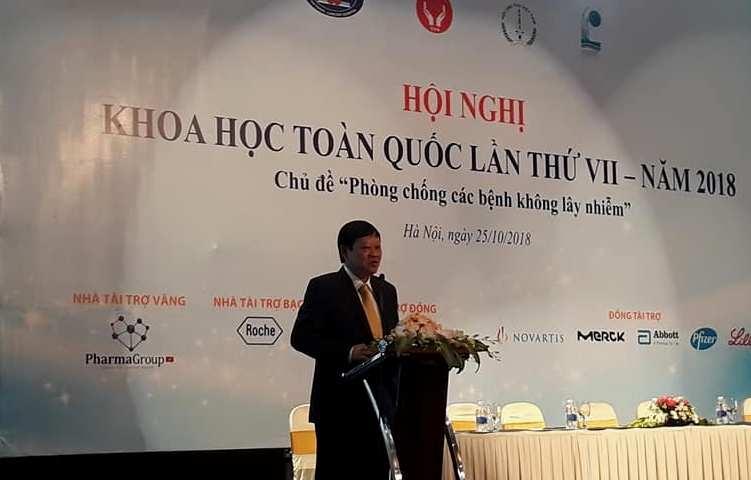 Việt Nam: 10 người tử vong thì có 7 người mắc bệnh không lây nhiễm