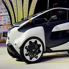 xe ba banh chay dien toyota i road ra mat tai vietnam motor show 2018