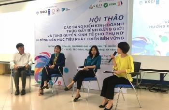 Vai trò của phụ nữ và thúc đẩy bình đẳng giới trong phát triển kinh tế - xã hội