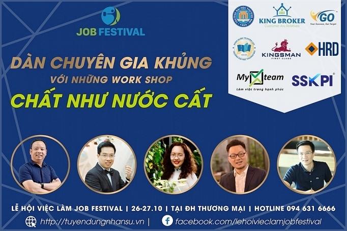 nhieu khoa hoc ve nhan su duoc se chia tai job festival 2019