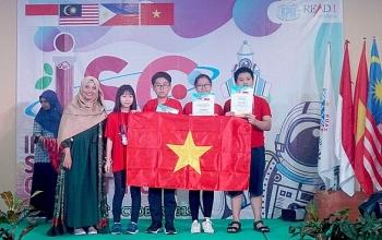 Việt Nam giành 39 huy chương tại cuộc thi Khoa học quốc tế ISC 2019