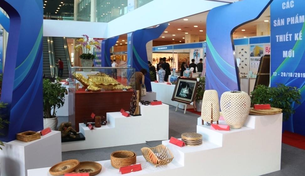 400 gian hàng tham gia Hội chợ Hà Nội Giftshow 2020