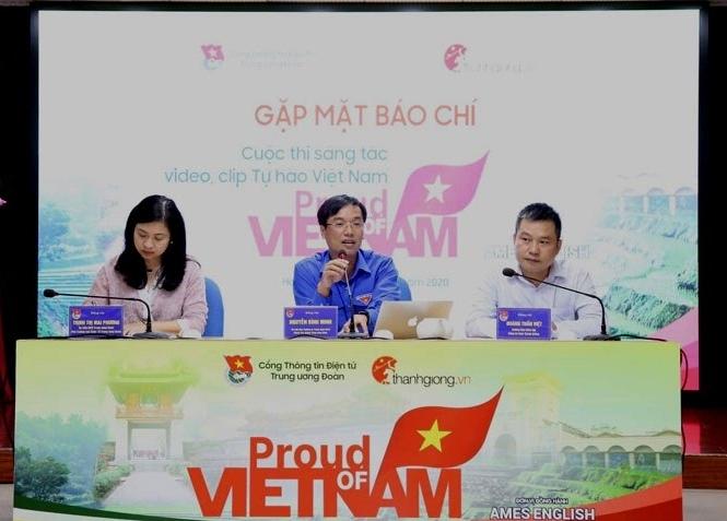 """Thể hiện tình yêu Tổ quốc qua sáng tác video clip """"Tự hào Việt Nam"""""""