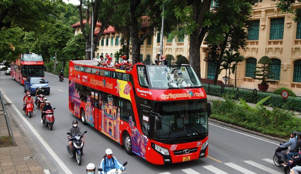 ha noi se mo them tuyen xe tham quan 2 tang city sightseeing hanoi