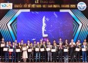 58 doanh nghiệp, đơn vị giành Giải thưởng Chuyển đổi số Việt Nam 2020