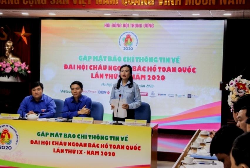 344 đại biểu dự Đại hội Cháu ngoan Bác Hồ toàn quốc lần thứ IX