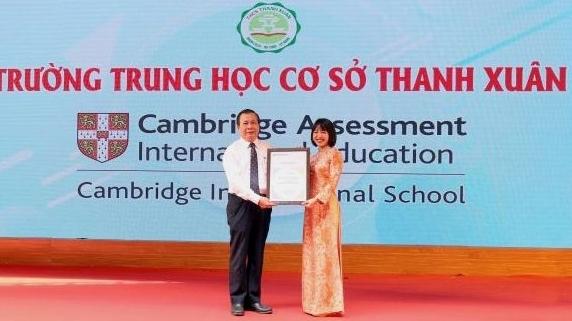 Hà Nội: Trường THCS công lập đầu tiên gia nhập thành viên Cambridge