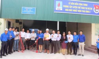 Khánh thành Phòng tập luyện thể thao tại Dự án NMNĐ Thái Bình 2