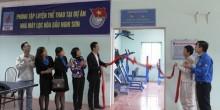 Khánh thành Phòng tập luyện thể thao tại Dự án LHD Nghi Sơn