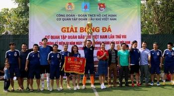 Bế mạc Giải bóng đá Cơ quan Tập đoàn Dầu khí Việt Nam 2019
