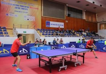 PVN tham gia giải bóng bàn tranh Cúp Báo Hànộimới lần thứ VII