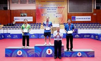 PVN giành 4 huy chương Giải bóng bàn tranh Cúp Báo Hànộimới lần thứ VII