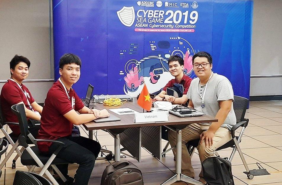sinh vien viet nam gianh giai nhi ta i cyber sea game 2019