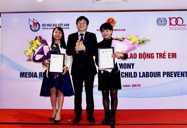 16 tác phẩm đạt giải cuộc thi viết về phòng ngừa lao động trẻ em