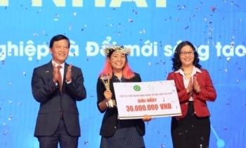 """Dự án lá chuối Việt vô địch """"Khởi nghiệp nông nghiệp đổi mới sáng tạo 2020"""""""