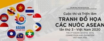 Triển lãm tranh đồ họa các nước ASEAN lần thứ 3 - Việt Nam 2020