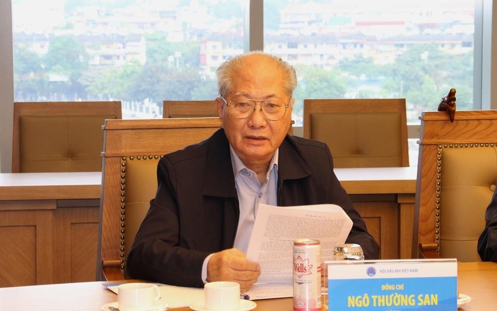 Hội Dầu khí Việt Nam là nguồn tài nguyên quý của Petrovietnam
