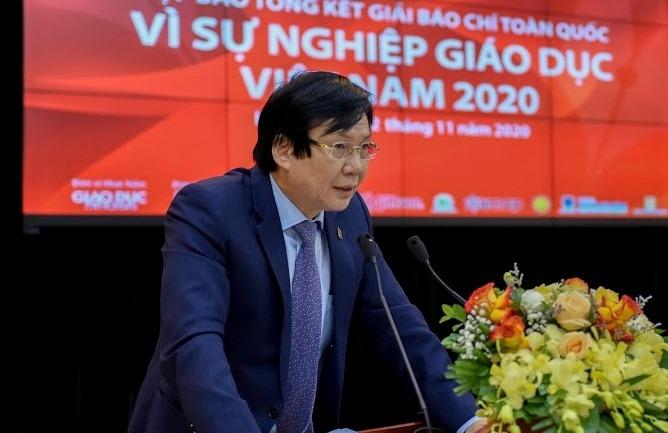 """50 tác phẩm đạt giải báo chí """"Vì sự nghiệp giáo dục Việt Nam"""" năm 2020"""